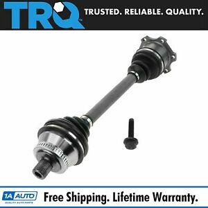 Cv Joint Axle Shaft Assembly Front Right Rf Rh For Audi S4 A4 Vw Passat