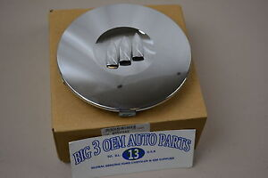 97 00 Buick Park Avenue 02 Lesabre Chrome Wheel Center Cap W buick Shield New Oe