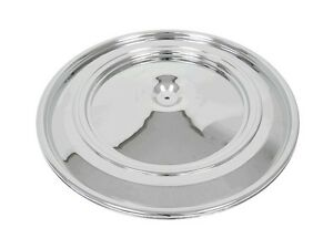 70 71 72 Corvette Air Cleaner Lid Chrome Repro New In Stock C Pictures