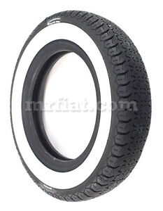 Fiat 500 600 Pirelli Cinturo 125 12 40 Mm Whitewall Tire