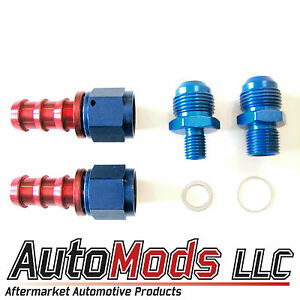 An Barb Fitting Kit Bosch 044 Fuel Pump 10 Inlet 6 Outlet