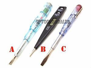 3 Pc Auto Circuit Tester Bulb Fuse Checker Ac Dc Compact Design Diy Tools