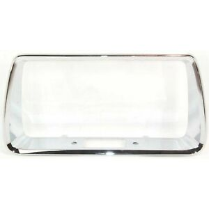 New License Plate Frame Rear Chevy Chevrolet Malibu 2008 2012 Gm1168100 15831264