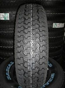 4 New P 235 75 15 Goodyear Wrangler Radial Tires 75r15 R15 75r 2357515 4 Ply