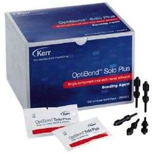 Optibond Solo Plus Adhesive 100 Unidose Refill Pack By Kerr Sale