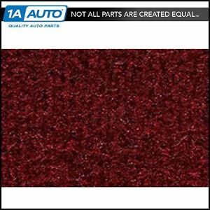 For 1977 79 Ford Thunderbird 2 Door Cutpile 825 Maroon Complete Carpet Molded