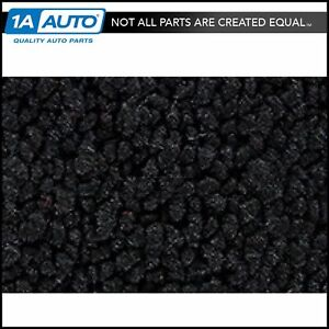 For 1970 72 Chevy Monte Carlo 80 20 Loop 01 Black Complete Carpet Molded