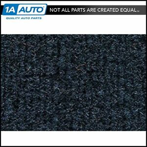 For 1974 78 Cadillac Eldorado Cutpile 7130 dark Blue Complete Carpet Molded