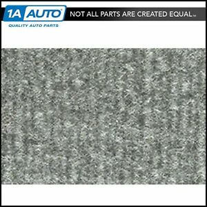 For 1985 91 Gmc Jimmy Full Size Cutpile 8046 Silver Complete Carpet Molded