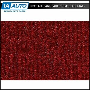 For 1987 95 Jeep Wrangler Cutpile 4305 oxblood Passenger Area Carpet Molded