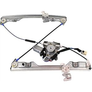 Power Window Regulator For 2002 2006 Nissan Altima Front Driver Side With Motor