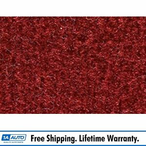 For 85 92 Pontiac Firebird Cutpile 7039 dk Red carmine Cargo Area Carpet Molded