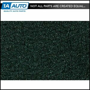 For 1987 95 Jeep Wrangler Cutpile 7980 dark Green Cargo Area Carpet Molded