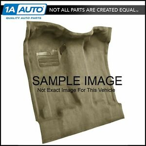 For 07 13 Sierra 1500 Extended Cab Cutpile 1251 Almond Complete Carpet Molded