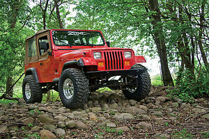 New Zone Offroad J27n 2 87 95 Jeep Wrangler Yj 4wd Lift Kit