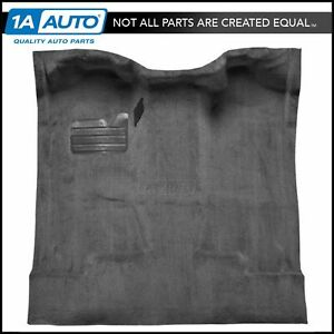 Molded Complete Carpet 801 Black Cutpile For 88 98 Chevy C1500 Truck Regular Cab