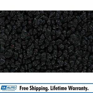 For 57 Buick Super 4 Door Hardtop Cut Sewn 80 20 Loop 01 Black Complete Carpet