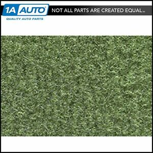 For 74 76 Impala 4 Door Hardtop Cutpile 869 willow Green Complete Carpet Molded