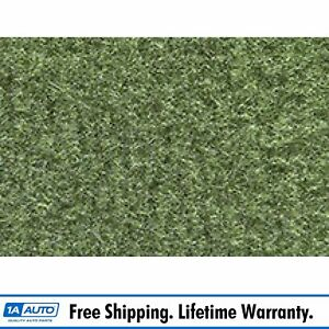 For 1978 81 Chevy Malibu Cutpile 869 Willow Green Complete Carpet Molded