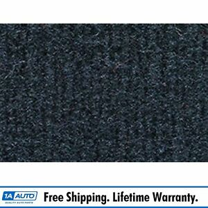 For 1976 Chevy Malibu 4 Door Cutpile 840 Navy Blue Complete Carpet Molded