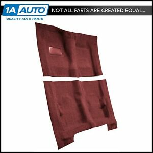 For 1974 76 Cadillac Calais 4 Door Cutpile 4305 Oxblood Complete Carpet Molded