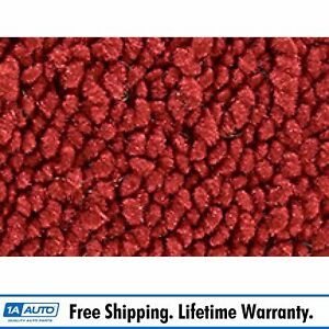 For 57 58 Buick Special 4 Door Post Cut Sewn 80 20 Loop 02 red Complete Carpet