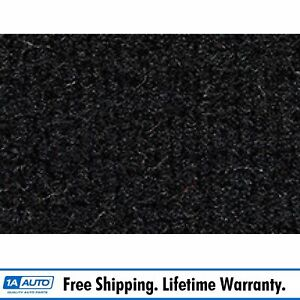 For 1998 02 Toyota Corolla 4 Door Cutpile 801 black Complete Carpet Molded