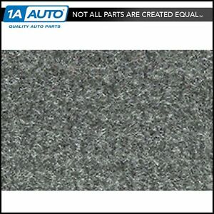 For 84 88 Toyota Pickup Regular Cab Cutpile 807 dark Gray Complete Carpet Molded