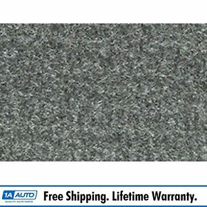 For 83 93 Ford Mustang Convertible Cutpile 807 Dark Gray Complete Carpet Molded