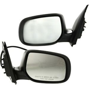 Power Mirror Set For 2009 2013 Toyota Corolla Left And Right Primed