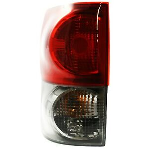 Tail Light For 2007 2009 Toyota Tundra Driver Side