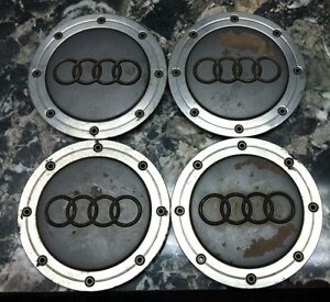 99 00 01 Audi A4 A6 Wheel Center Cap Set Of 4 4b0601165a