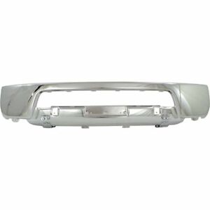Front Bumper For 2005 2007 Nissan Frontier Chrome Steel