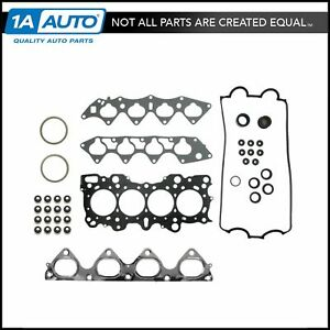 Head Intake Exhaust Manifold Gasket Set For Acura Integra Honda Del Sol Civic