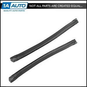 T top Outer Side Seals Rubber Weatherstrip Pair For 82 92 Camaro Firebird