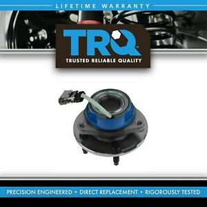 Trq Driver Or Passenger Front Rear Wheel Hub And Bearing Assembly W Abs Sensor