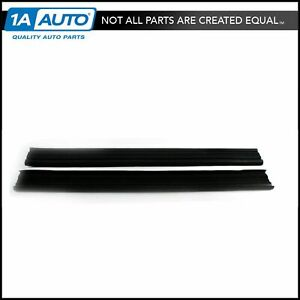 Tail Gate Inner Glass Run Channels Seals Weatherstrips For 78 96 Ford Bronco