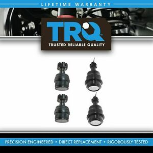 Ball Joints Upper Lower Kit Set Of 4 For Jeep Grand Cherokee Wrangler Comanche