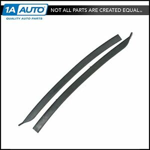 1 4 Quarter Window Weatherstrips Seals Pair Set For Buick Chevy Olds Pontiac
