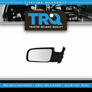 Trq Side View Mirror Black Folding Manual Driver Lh For Chevy Gmc C K Suburban