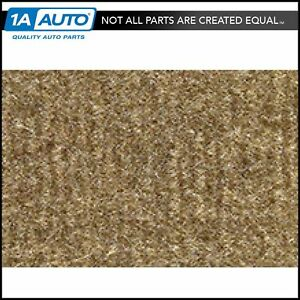 For 74 76 Cadillac Fleetwood 4 Door Cutpile 7295 medium Doeskin Complete Carpet