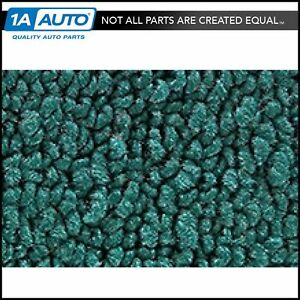 For 65 67 Galaxie 2 Door Hardtop Sedan 05 Aqua Carpet 4 Speed Manual Trans