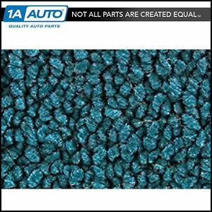 For 1958 Chevy Impala 17 Bright Blue Carpet Excluding Convertible Models