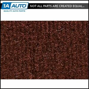 For 95 01 Gmc Jimmy S 15 4 Door Cutpile 875 claret oxblood Passenger Area Carpet
