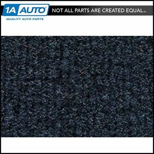 For 88 96 Chevy C1500 Truck Extended Cab Cutpile 7130 dark Blue Complete Carpet