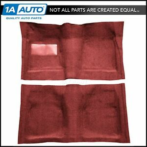 02 red Carpet For 61 64 Chevy Impala 2 Door Hardtop W Automatic Transmission