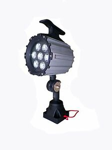 Machine Work Lamp Led 110v 220v 9w Waterproof Cnc Worklight With 100 000 Hrs