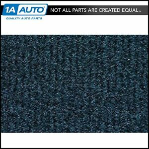 For 92 98 Chevy C3500 Truck Crew Cab Cutpile 4033 Midnight Blue Complete Carpet