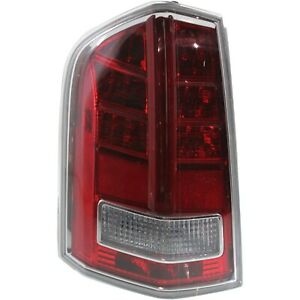 Tail Light For 2011 2012 Chrysler 300 Driver Side With Red Accent