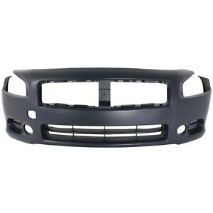Front Bumper Cover For 2009 2014 Nissan Maxima Primed Capa Ni1000258c 620229n00h